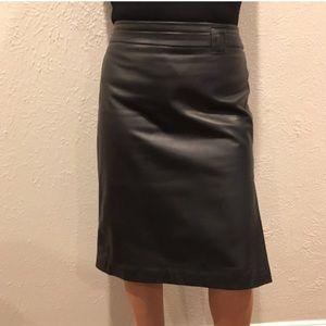 ARMANI COLLEZIONI Black Pencil Skirt